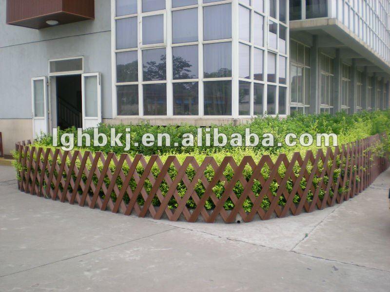 Plast madeira composto cerca do jardimPiso estruturadoID do produto