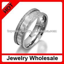 factory wholesale fashion 316l luxury men rings