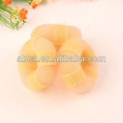 Medium Color Hair Bun Ring 2013