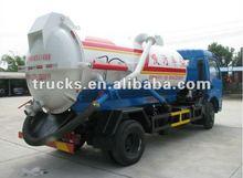 6000L vácuo caminhão de sucção de esgoto + 86 15997885688