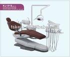 Foshan KJ-918 3-Memory Program Dental Chair Unit with LED sensor lamp light cure and scaler,CE