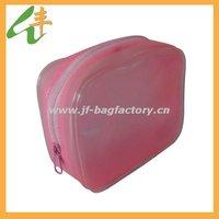 2012 popular fashion red pvc cosmetic bag