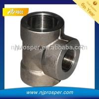 Female Threaded /screwed Steel Tee/ pipe fittings (YZF-P79)