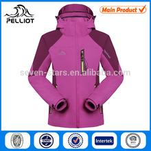 lady camping hiking jacket