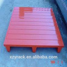 New Type Steel Pallet/corrugated or C-style steel /3 legs/ 2/4 ways/XINZHONGYA RACK