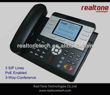 3 SIP lines IP Phone,VoIP Phone PoE enabled