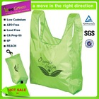 Polyester foldable cheap promotional bag/promotional tote bags