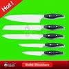 Blade handle kitchen knife block set with acrylic block