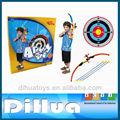 crianças arco e flecha arco e flecha de brinquedo conjunto