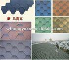 Colorful asphalt shingle/roofing tiles