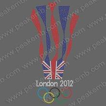 Beautiful 2012 London Custom Hotfix Designs