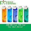 Flint Refillable Led Lighter+Head Color Shaodong Factory Cigrette Smoking Lighter