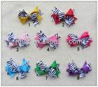 Factory supplier polyester grosgain kids hair ribbon bows