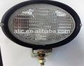 Tipo oval lâmpada de trabalho JCB retroescavadeira / JOHN DEER / MF trator