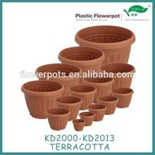 Plastic flower pot hot sale Plastic garden pot KD2000 Series