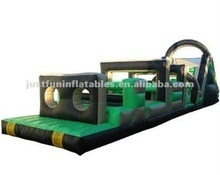 boys inflatable games, commercial obstacle course inflatable