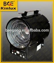 4000W industrial Portable Garage Fan forced electric heater