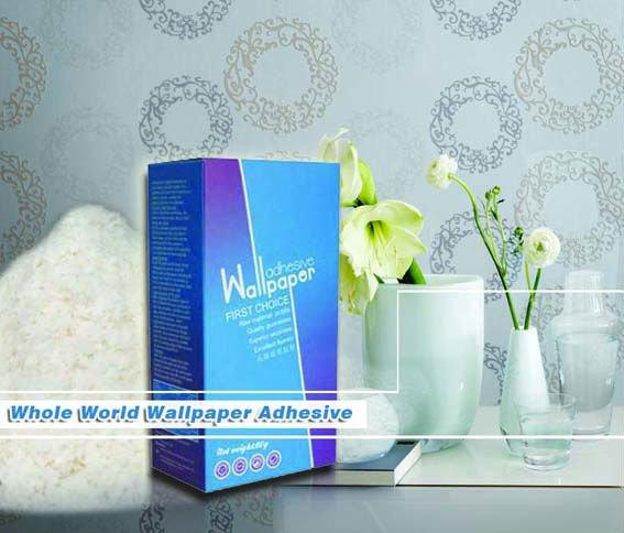 DIY use all purpose wallcovering powder adhesive