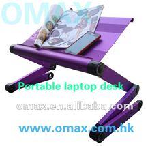 mini ergonomic foldable furniture table used on bed, sofa, floor, desk