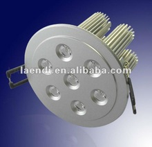 7W high power led downlight cree chips