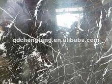 natura nero con venature bianche di marmo piastrelle