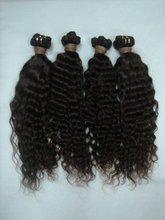 HOT SELL!New virgin brazilian hair weave deep wave 16inch Manufacturer sales