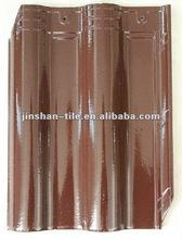 New-style glazed kerala glazed clay roof tiles
