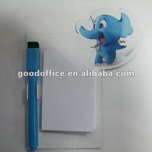 2012 ECO-friendly promotional gift fridge magnet notepad