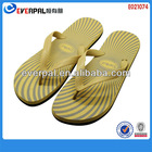 men yellow beach flat soft hot flops 2013