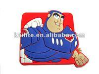 Soft PVC Cartoon Fridge Magnets
