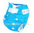 2012 distribuidores recién nacidos del pañal del tamaño del Velcro uno del pañal del paño de Alva de la venta CALIENTE