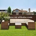 Sigma vida de luxo SG-12130A de bambu rattan móveis de vime