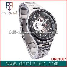 de rieter watch Giggest free movt quartz digital watch designer service team watch strap leather