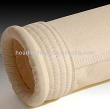 Nomex / Aramid fiber non woven filter cloth / dust filter bag