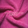 100 polyester super soft velvet fabric for toy upholstery