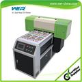Made in china kann weißer und Farbe tinte auf einmal a1 größe uv-led-druckmaschine