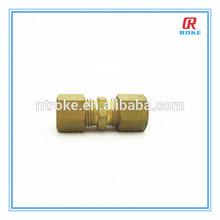 Nantong Roke Brass Material and Hexagon Head Code Tube Fitting