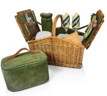 2014 Brand New Design Willow Picnic Basket