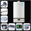 Ad alta efficienza 20-40kw sospesi caldaia a gas/vapore caldaia/gas casa riscaldatore
