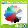 china supplier new product raw material plastic corrugated sheet