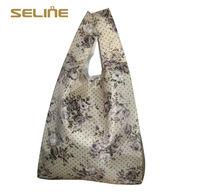 Fashion new design reusable good quality recyclable nylon shopping bag