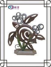 turtle decor, wholesale handicrafts wrought iron sculpture garden outdoor decor metal decorative turtle