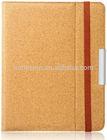 elastic closure cork tablet holder case cover