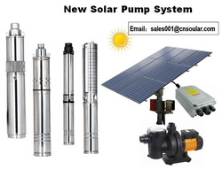 3' 4' 6' Solar Water Pump for Irrigation