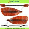 China's Largest Oars Manufacture ,Fancy Fiberglass Whitewater Kayak Paddle