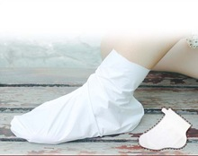 Feet care exfoliating foot mask foot peeling Cactus extract,socks for pedicure OEM cuticle remover