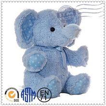 Handmade custom stuffed animal soft stuffed baby bath toys elephant