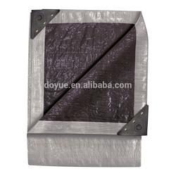 Sun and water resistant aluminium eyelet high tear strength pe fabric