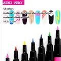 Großhandel 12 farben nagellack Stifte/heiß entwürfe nail art pen/nail art pen set #4303