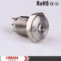Hban 12 V punto iluminado señal de lámparas, Indicador, Piloto de la lámpara CE ROHS aprobado ( 12 mm )
